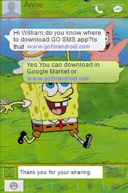 go launcher themes spongebob sponge bob go sms theme apk download sponge bob go sms theme 2 0