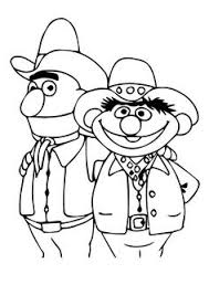 ernie u0026 bert coloring pages art draw coloring pages