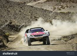 peugeot dakar dakar rally 2017 paraguay argentina bolivia stock photo 574091305
