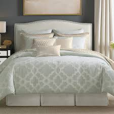 Blue Bed Set Candice Olson Bedding Candice Olson Cachet Comforter Set Ice