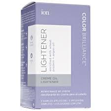 ion color brilliance creme oil lightener
