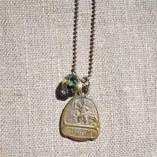 necklace with vintage images Vintage st christopher necklace jpg