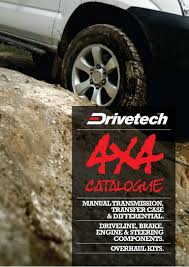 drivetech 4x4 catalogue