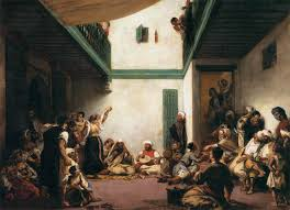 Moroccan Art History by A Jewish Wedding In Morocco 1841 Eugene Delacroix Wikiart Org
