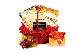 book gift baskets caldecott book gift basket for baby children toddler enchanted