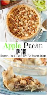 apple pecan pie less sugar low calorie food done light