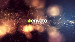 videohive after effects template particle burst logo youtube