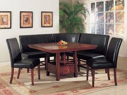 leather corner bench dining table set furnitures awesome corner bench dining table corner dining table
