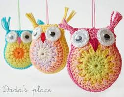 owl crochet pattern crafts