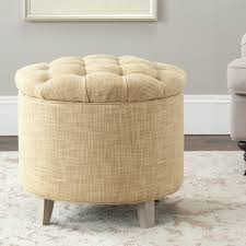 storage ottoman slipcover amazon com safavieh amelia tufted storage ottoman gold kitchen