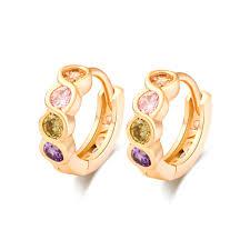children s hoop earrings online shop colorful children s hoop earrings gold filled fashion
