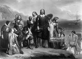 21 nov pilgrims sign the mayflower compact photos and images