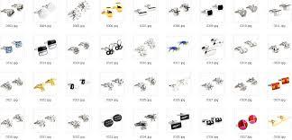 50pairs lots cufflink car logo cufflink logo car u2013 wholesale free