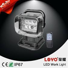 rechargeable magnetic work light 7 portable off road led work light 50w rechargeable led magnetic