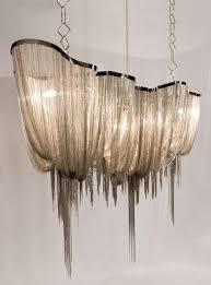 Decorative Pendant Light Fixtures Sale Modern Suspension Chain Big Chandelier