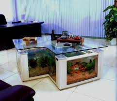 dining room table fish tank dining room decorations acrylic coffee table aquarium for home