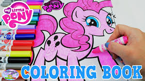 my little pony color book my little pony coloring book mlp pinkie pie colors episode