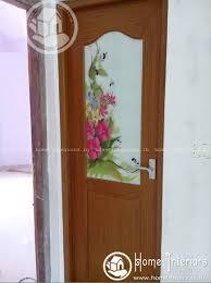 Kitchen Door Design Tremendous Modern Kerala Fiber Door Designs Home Interiors