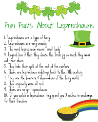 lots of lucky leprechauns activities books u0026 fun facts the