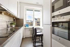 narrow kitchen ideas narrow kitchen with dining area