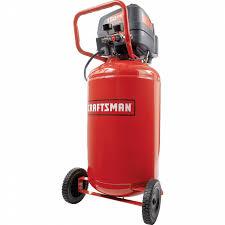 craftsman 33 gal air compressor 1 6 hp vertical tank 150 max