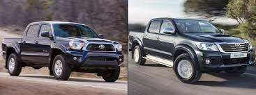 toyota truck hilux sibling rivalry 2012 toyota tacoma vs toyota hilux