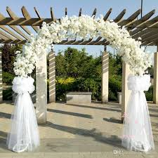 how to decorate a wedding arch romatic wedding center pieces metal wedding arch door hanging
