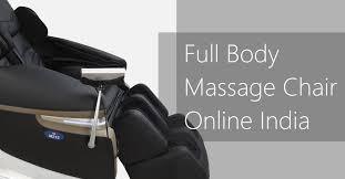 Massage Chair India Massage Chair Online India Jsb Mz15 3d Body Sensing