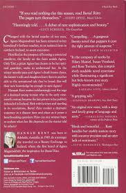 Burial Invitation Card Burial Rites Hannah Kent 9780316243926 Amazon Com Books