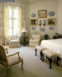 apartments lovely bedroom design with two cream stretch pinstripe