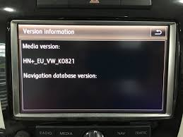 2016 volkswagen touareg map update rns 850 navigation service oem