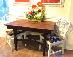 Refinishing A Dining Tablea Tutorial  Beckwiths Treasures - Refinish dining room table
