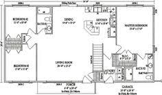 house plans open concept simple one open floor plan rectangular search