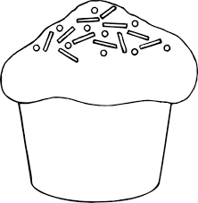 cupcake coloring pages to print food coloring pages u2013 children u0027s best activities