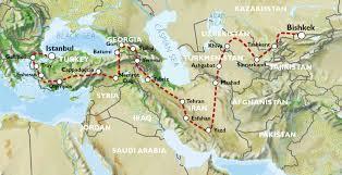 Istanbul Turkey Map Istanbul To Bishkek 9 Weeks Turkey Iran U0026 U0027the Stans