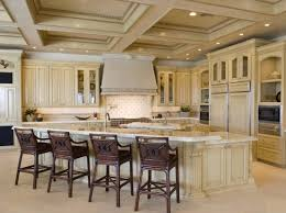 image of white tuscan kitchen interior design for the home