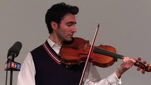 Blind Violinist Famous Episode 538 Is A Stradivarius Just A Violin Planet Money Npr