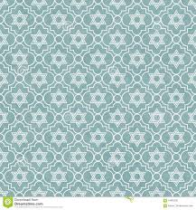 blue pattern background blue and white star of david repeat pattern background stock