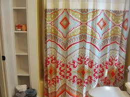 Gorgeous Shower Curtain by Curtains Interesting Design Of Shower Curtains Kohls For Bathroom