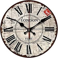 Shabby Chic Wall Clocks by Amazon Com Grazing 10