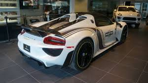 porsche 918 porsche 918 spyder stolen from dealer in broad daylight