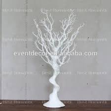 Tree Centerpieces White Plastic Tree Centerpiece For Decoration Buy White Tree