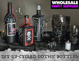 diy gothic bottle decorations wholesale halloween costumes blog