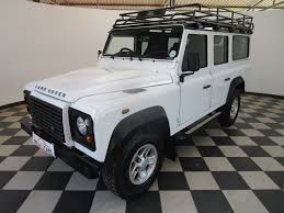 used land rover defender 110 for sale used land rover defender 110 2 2d s w for sale