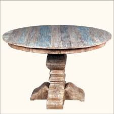 Decorate Round Dining Table Rustic Round Dining Table Rustic Round Dining Table Design Image