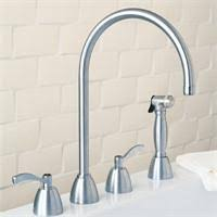 williamsburg undermount kitchen faucet with hand spray 4752 from