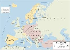 World War 1 Map Activity by 40 Maps That Explain World War I And Europe Map 1 Europe Map