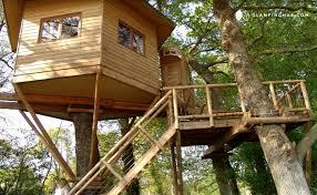 luxury treehouse in breton france