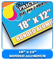 alum prices cheap prices on bonded aluminum signs cheapprintprices
