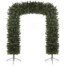 premier decorations christmas display arch 8ft christmas trees